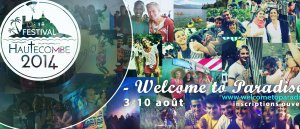 Prions pour Le Festival Welcome to Paradise