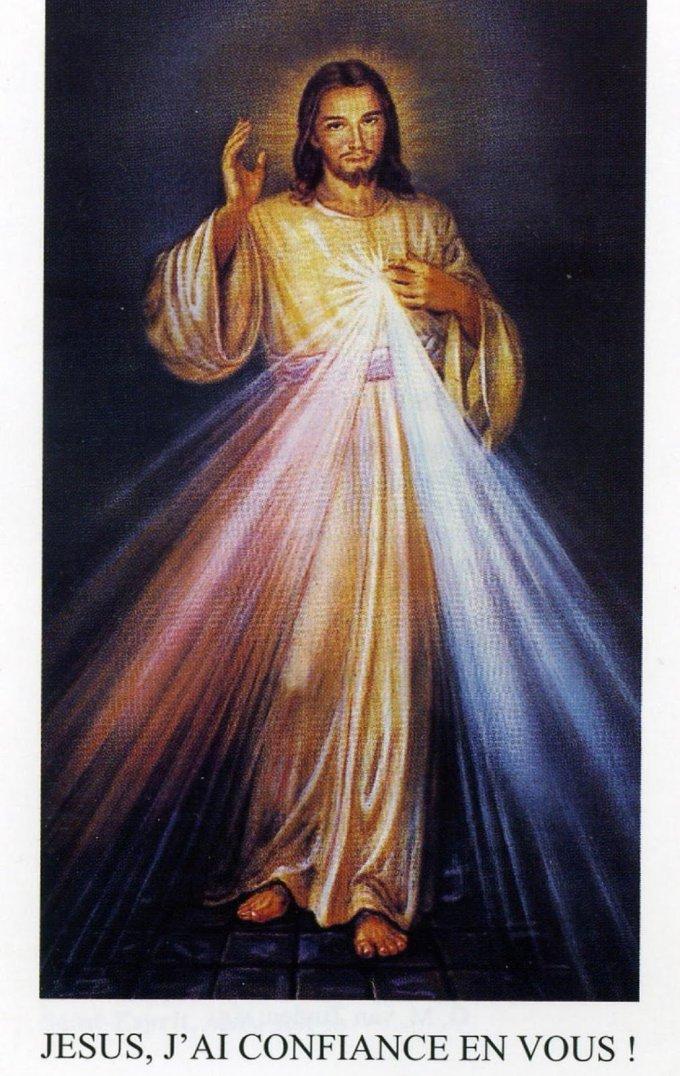 Ce Dimanche LOUANGE, INTERCESSION (chapelet de la Miséricorde Divine)