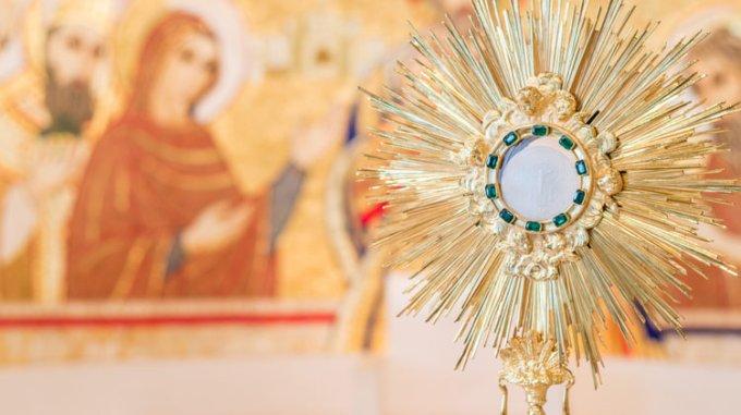 Septaine jour 1: Le chapelet de l'Eucharistie