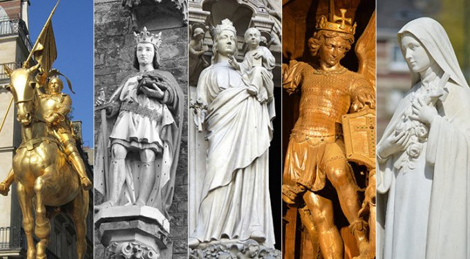 9e jour : Prions les saints patrons de la France