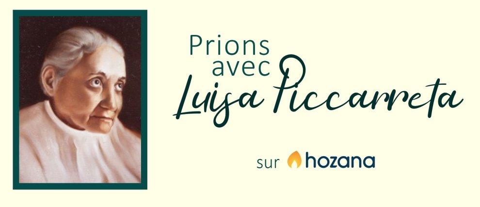 Prions avec Luisa Piccarreta - Hozana