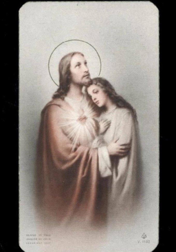 Résolution: m'unir au Christ miséricordieux