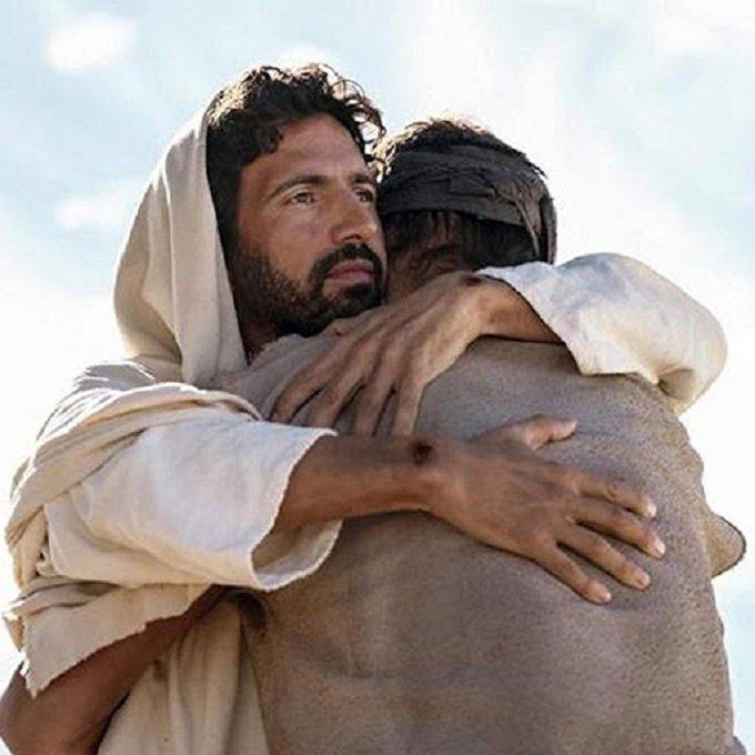 Cache-moi, Jésus, dans les profondeurs de Ta miséricorde