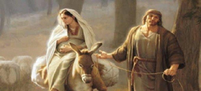 Je m'unis à la Mère de Dieu et je quitte Nazareth pour Bethléem