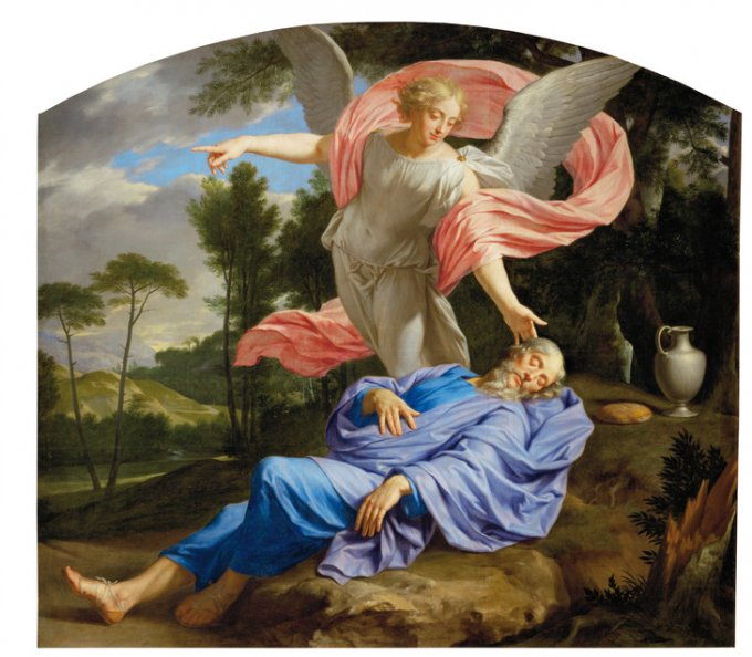 Le prophète Elie, témoin du Dieu vivant
