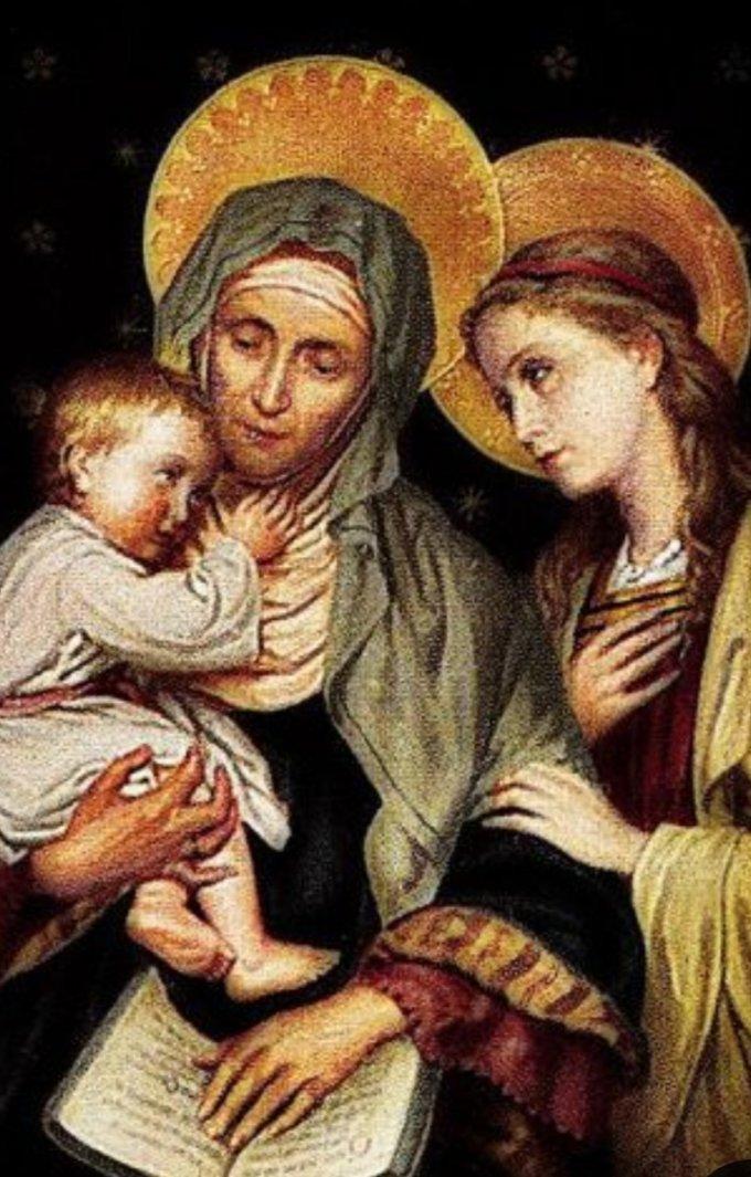 Marie est notre Maman... Anne notre Mamie