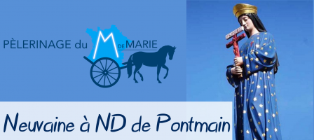 Neuvaine à Notre Dame de Pontmain - M de Marie