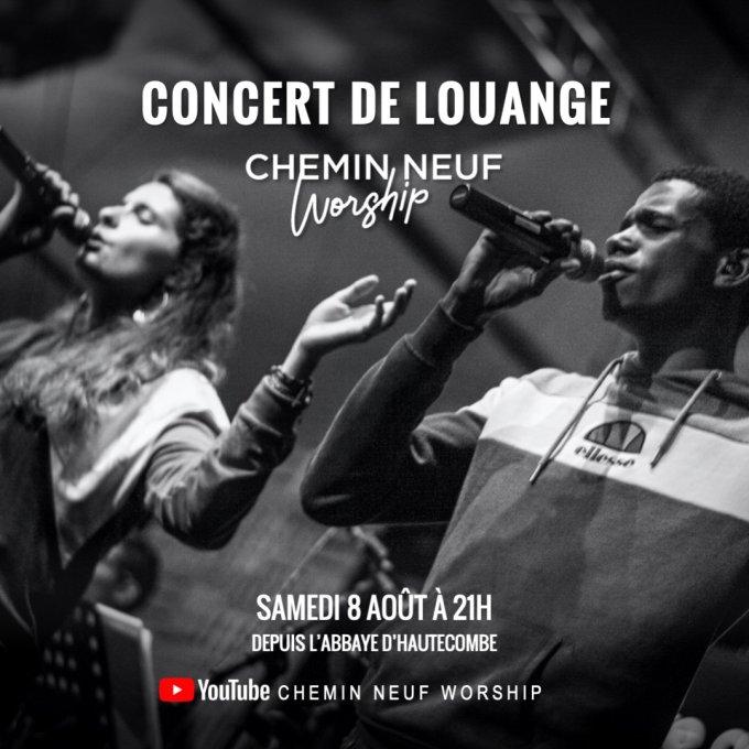 CONCERT DE LOUANGE - Samedi 8 août 21h-22h