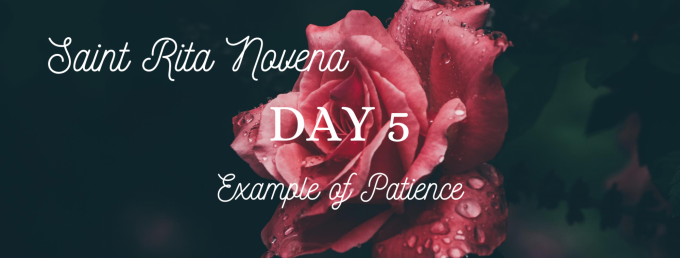 Saint Rita Novena - Day 5