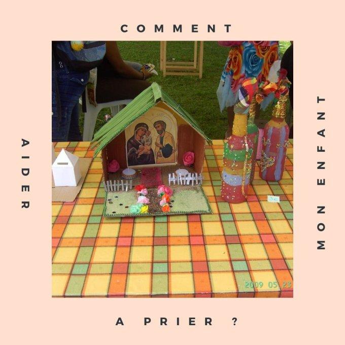 Aider mon enfant à prier (1) : le coin-prière