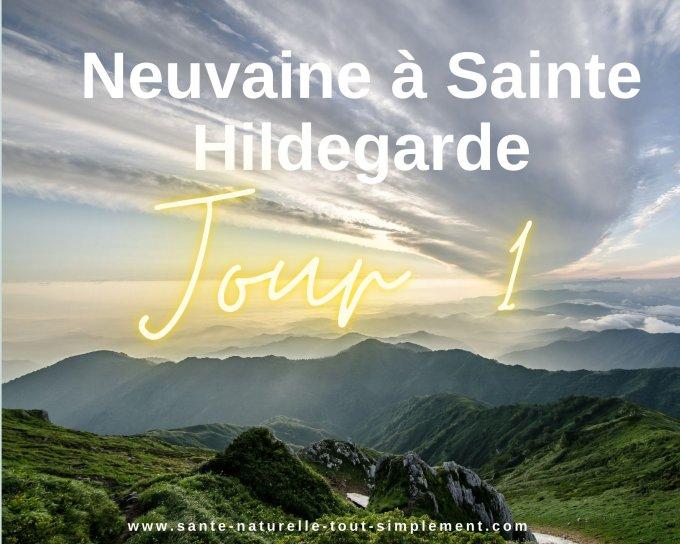 Neuvaine à Sainte Hildegarde - Jour 1