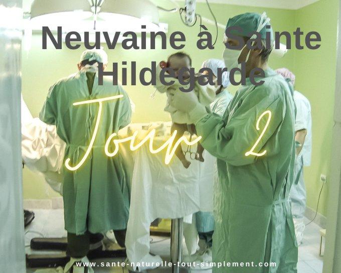 Neuvaine à Sainte Hildegarde - Jour 2