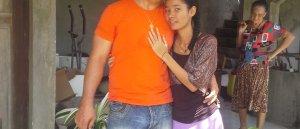 Prions pour nous (ma copine Elizor Sallidjie et moi Christophe