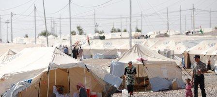 Prions pour les familles de réfugiés Irakiens.