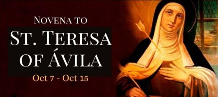 Novena to St. Teresa of Ávila