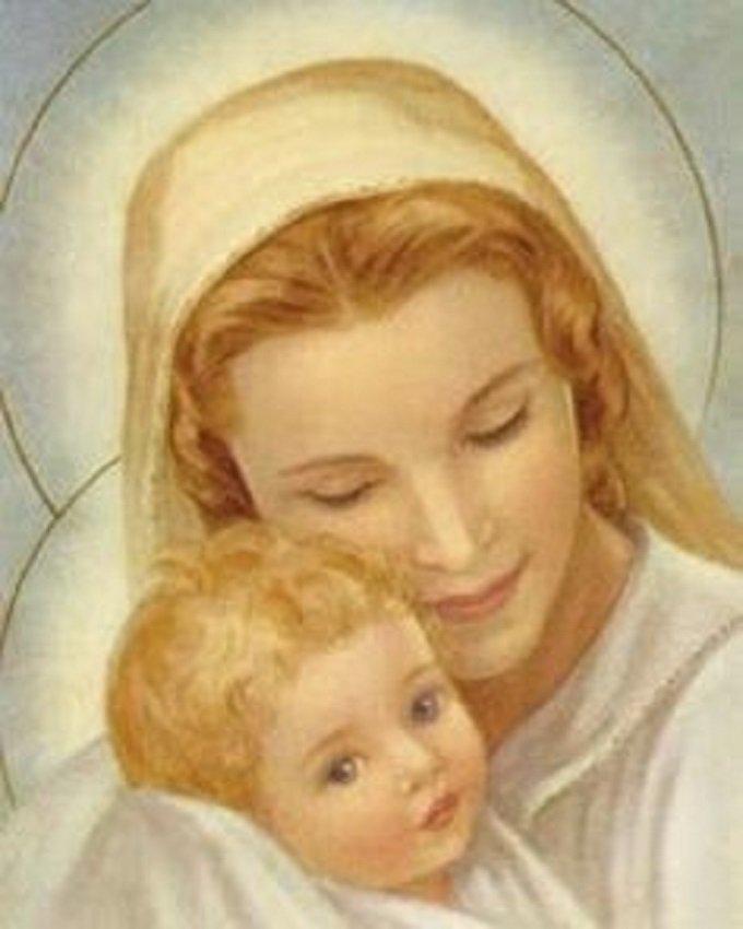 La Mère de Dieu m'apprend cette vie intérieure de l'âme avec Jésus.