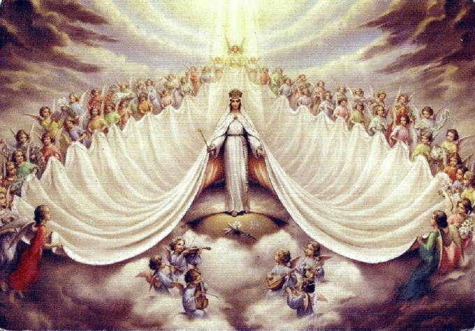 la Très Sainte Vierge Marie, Reine du Ciel