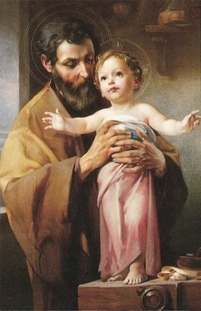 St. Joseph, A Man After God's Own Heart, Pray for Us!