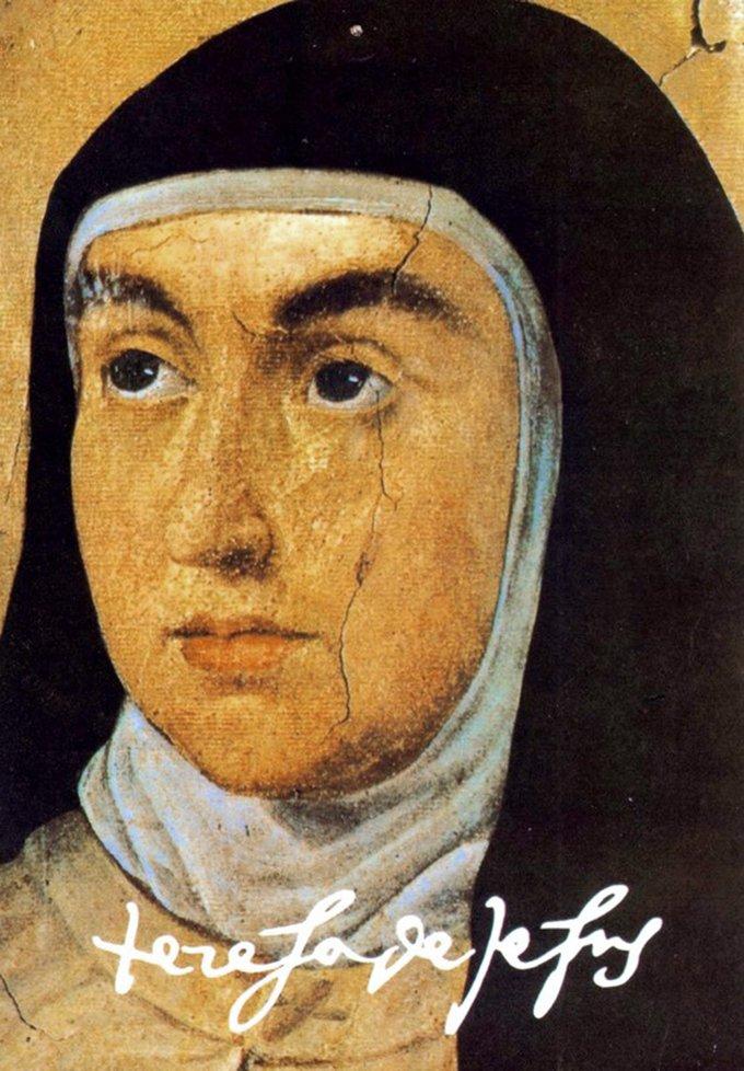 Notre Mère sainte Thérèse de Jésus (Thérèse d'Ávila), docteur de l'Eglise
