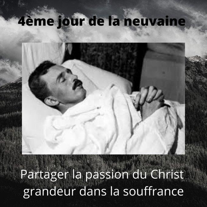 4ème jour - Partager la passion du Christ – grandeur dans la souffrance