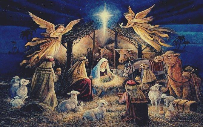 Parole du Jour. Vendredi 25 décembre. NOËL !