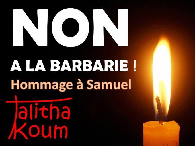 NON A LA BARBARIE !