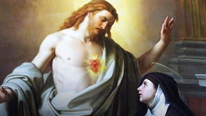 Belle fête de sainte Marguerite-Marie !