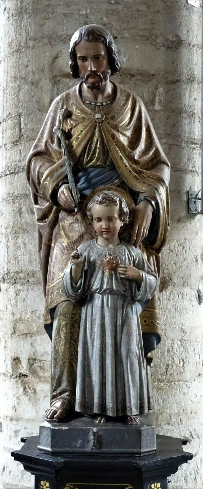 Saint Joseph, espoir des malades, priez pour nous
