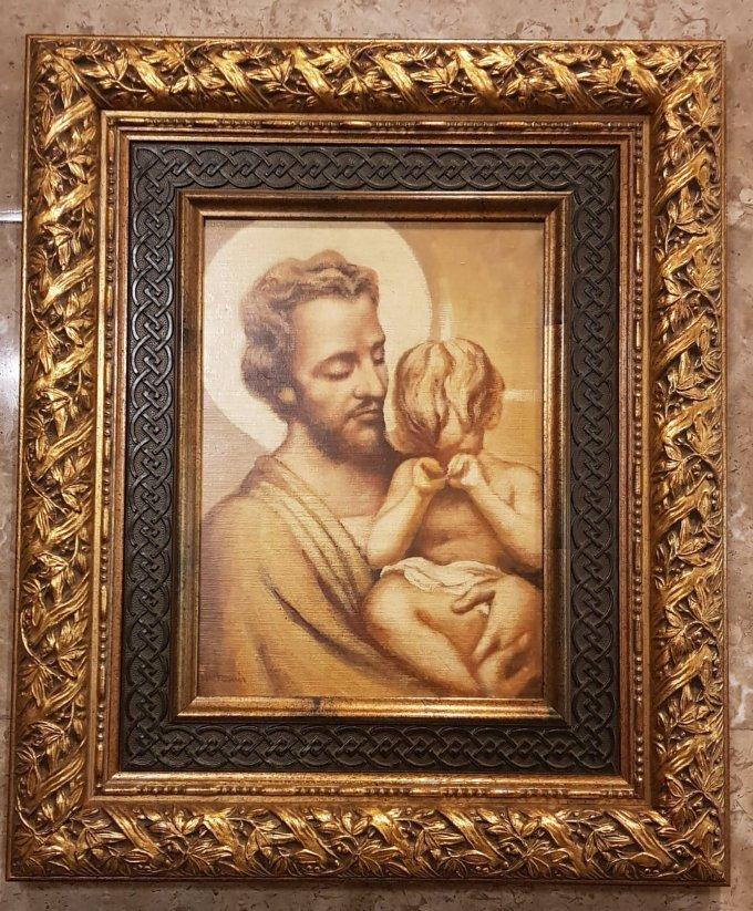 Saint Joseph, patron des âmes du Purgatoire, priez pour nous