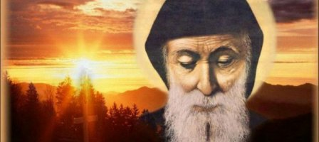 Praying with St Charbel of Lebanon