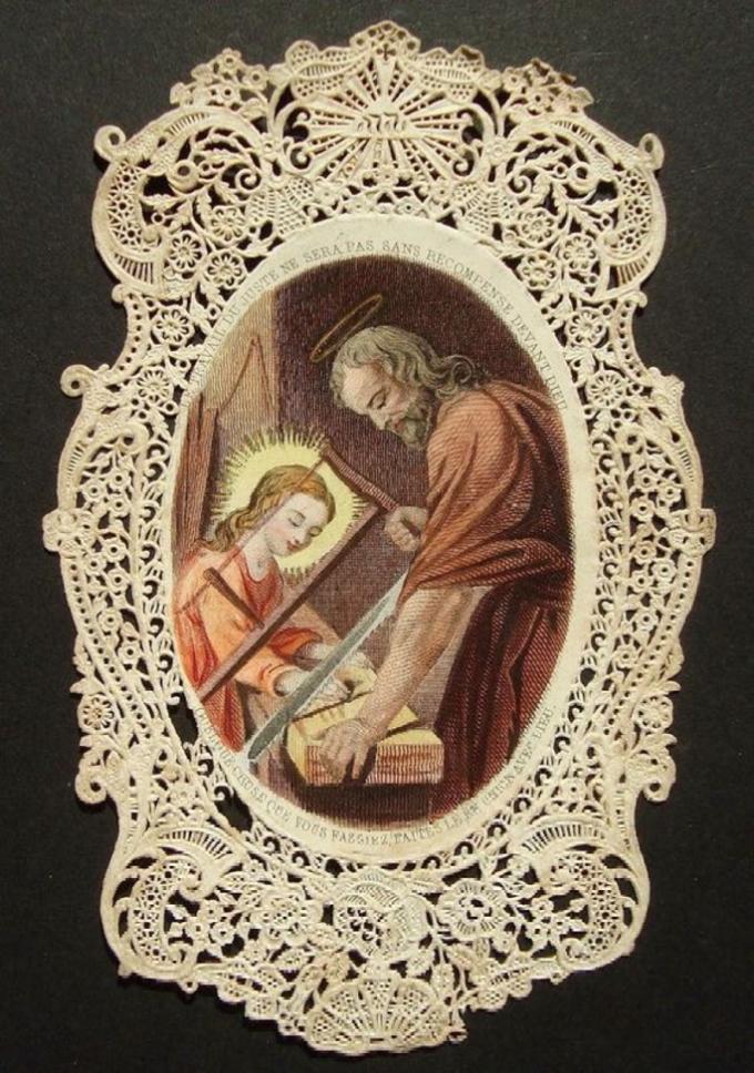 Saint Joseph, modèle des travailleurs, priez pour nous,