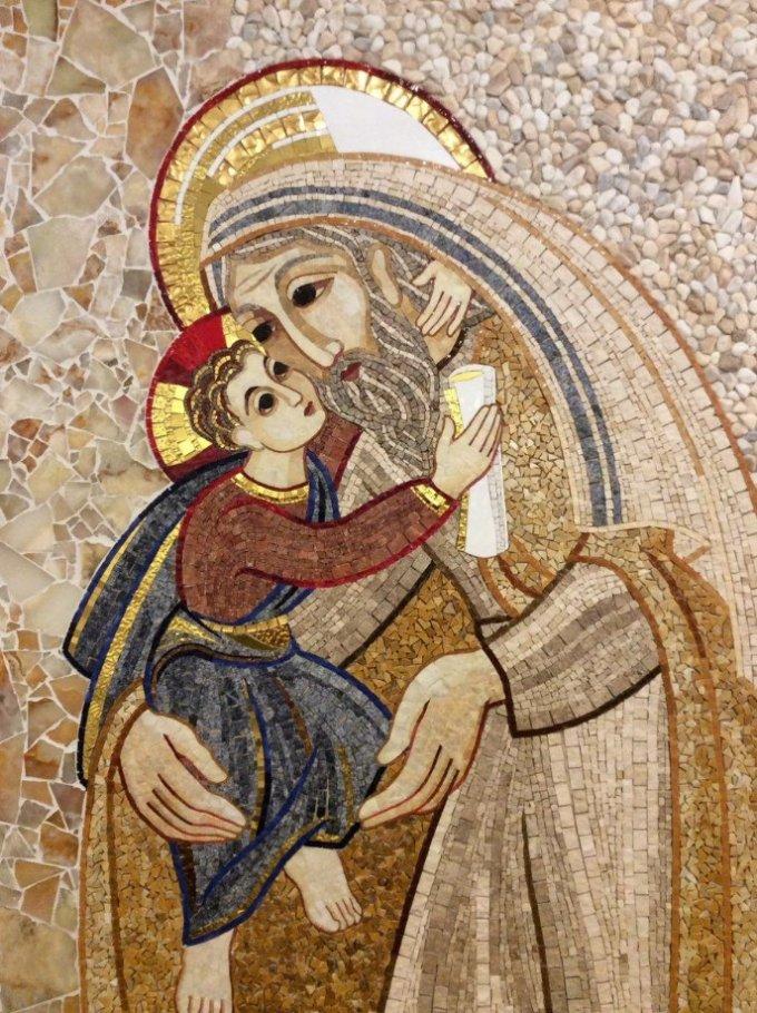 Saint Joseph, priez pour notre Pape François et notre Pape Émérite Benoît XVI