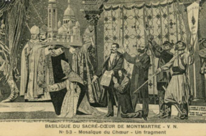 Quel triomphe…si une église s'élevait à Paris... pour le culte du Sacré-Cœur