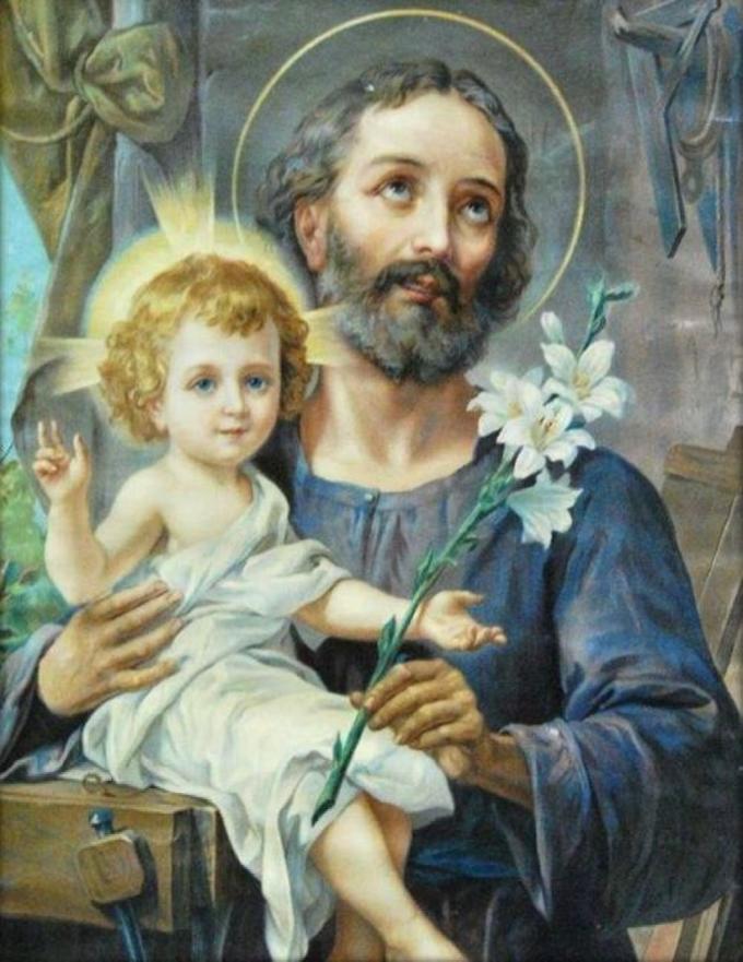 Saint Joseph, modèle de patience et de douceur, priez pour nous