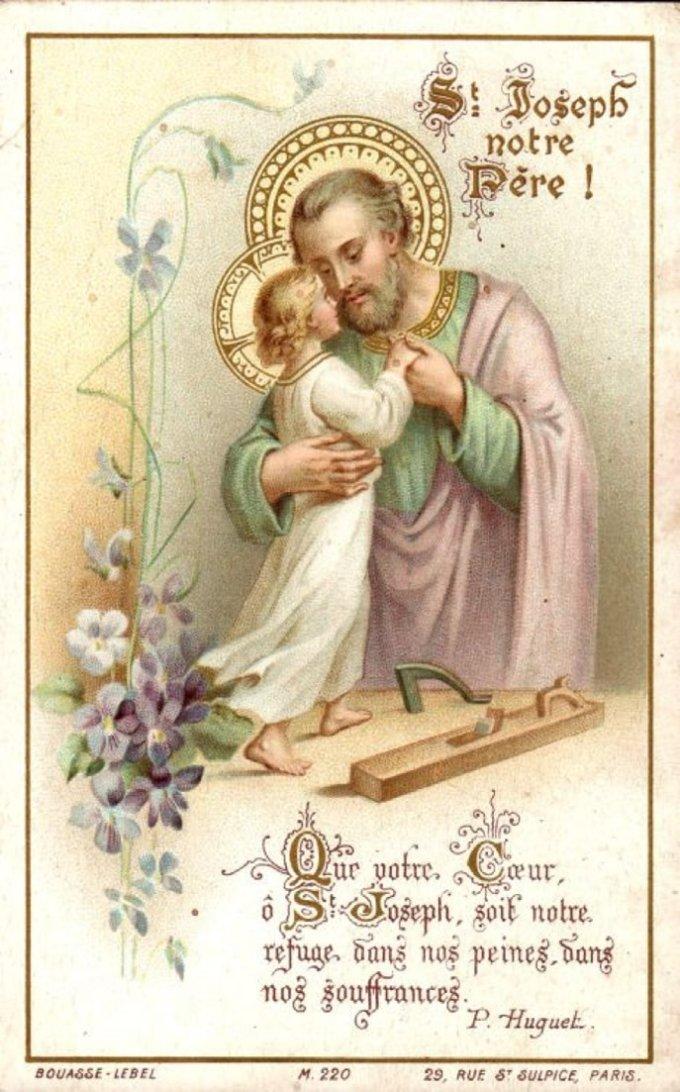 Saint Joseph, ami de la pauvreté, priez pour nous