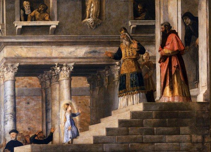 Intermède du 21 novembre : Présentation de la Très Sainte Vierge Marie au Temple