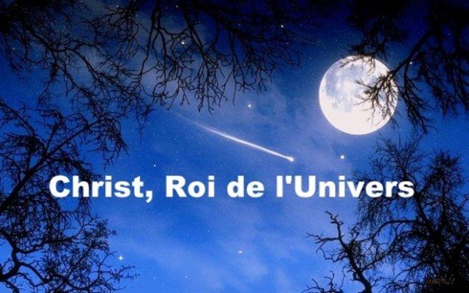 Christ Roi : Jésus, roi de l'univers