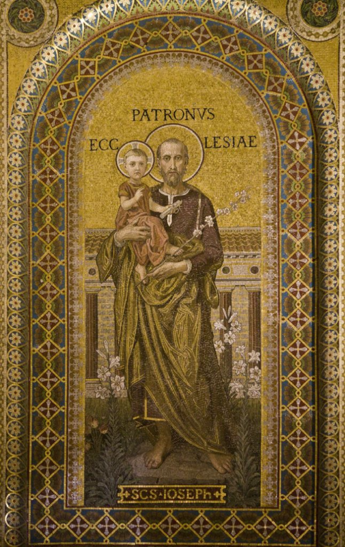 Saint Joseph, Patron de l'Eglise Universelle, priez pour nous,