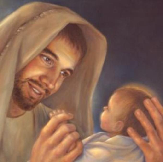 Saint Joseph, qui le premier après la Vierge Marie, avez adoré Jésus, ppn