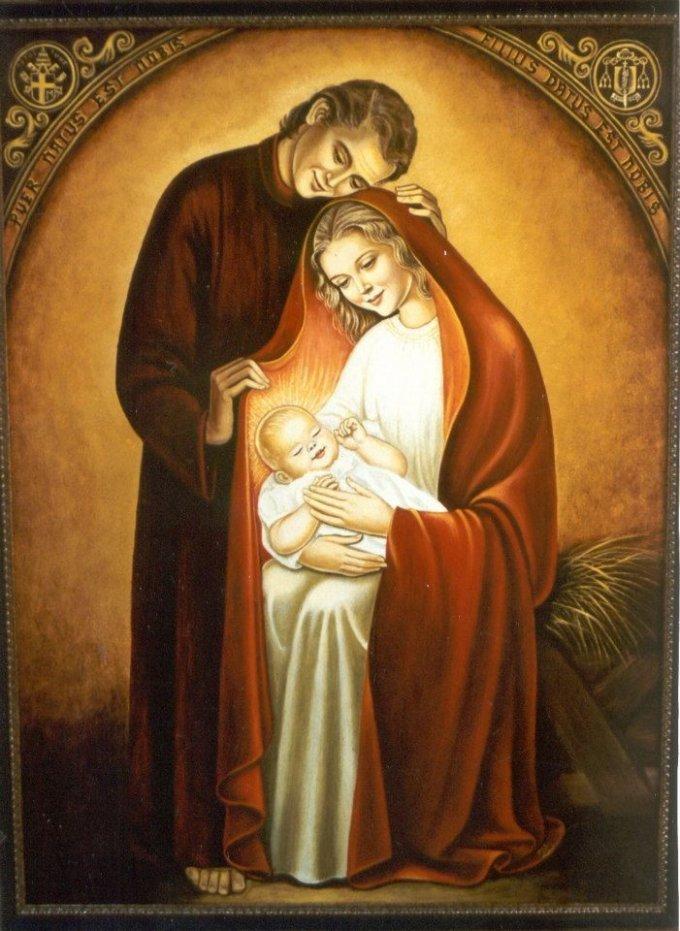 Saint Joseph, conducteur de la Sainte Famille, priez pour nous