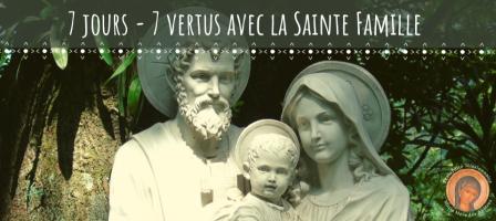 Retraite de 7 jours avec la Sainte Famille