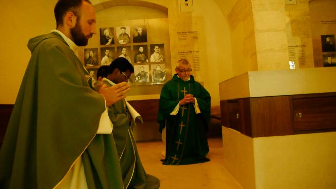 Messe d'envoi de Julien Boury