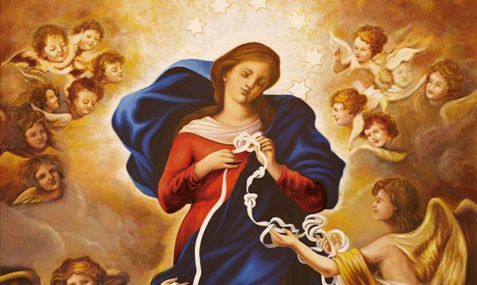 Jour 8 : Marie, médiatrice de toutes les grâces