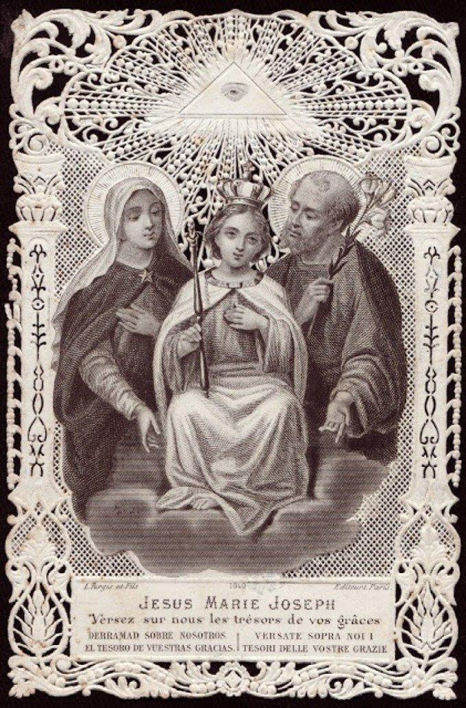 Saint Joseph, honneur de la vie de foyer, priez pour nous