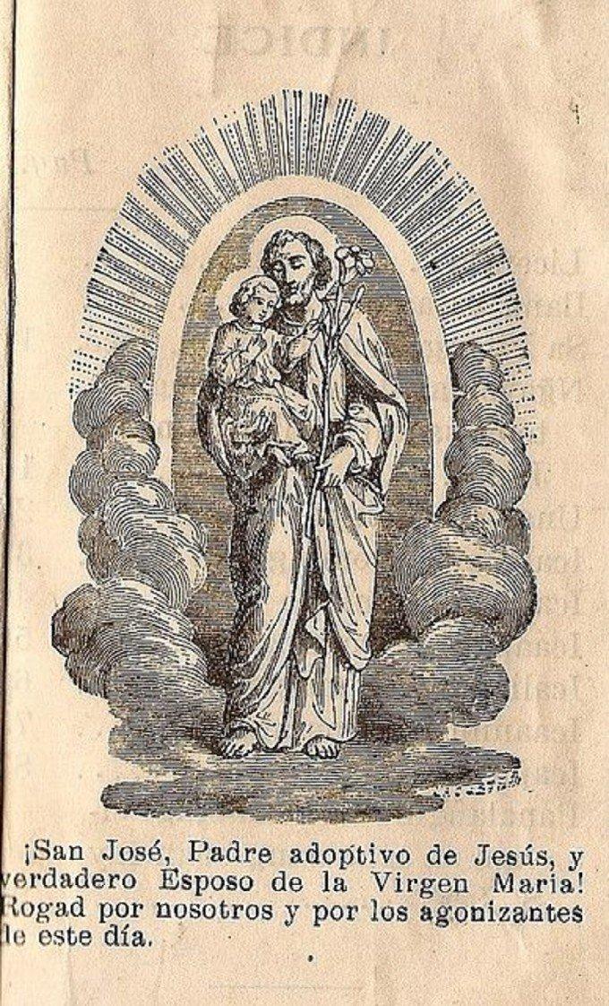 Saint Joseph, priez pour les âmes du Purgatoire
