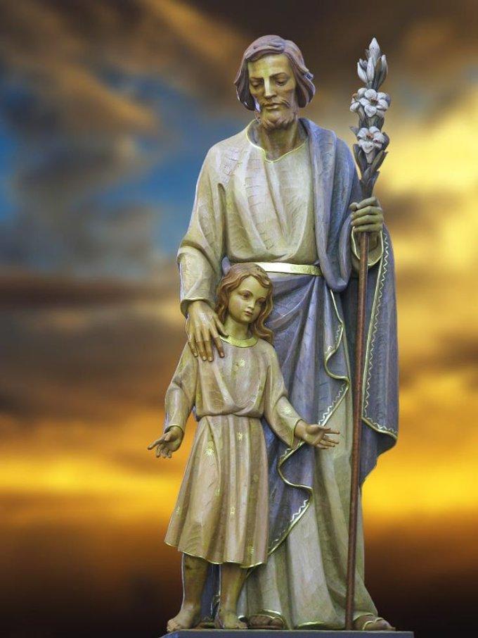 Saint Joseph, soulagement des malheureux, priez pour nous