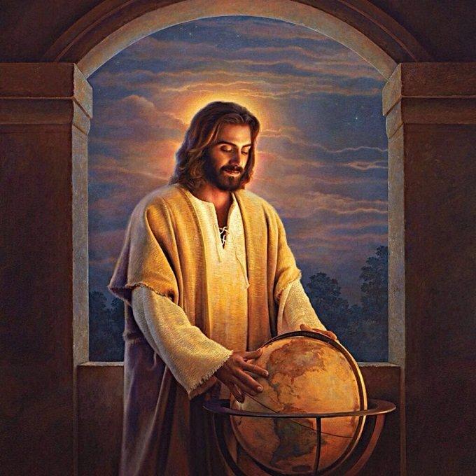 Ô Jésus, miséricorde! Enveloppe le monde entier et presse-moi contre Ton Cœur