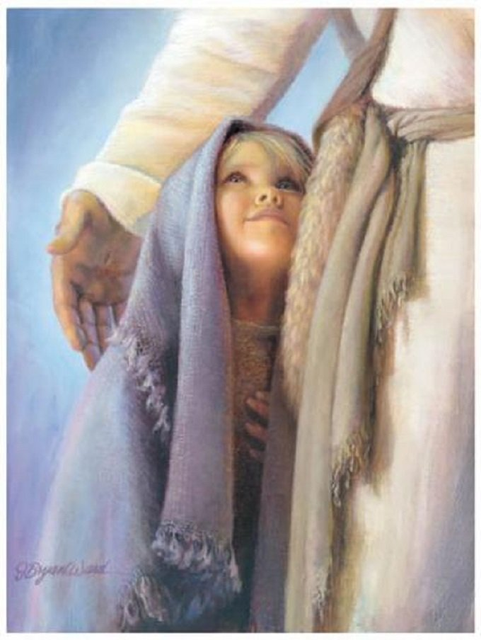 Profitant de l'intimité à laquelle le Seigneur m'admet, j'ai prié pour le monde