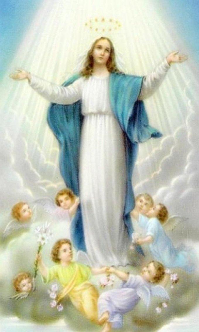Marie, garde la pureté de mon âme, de mon cœur et de mon cœur