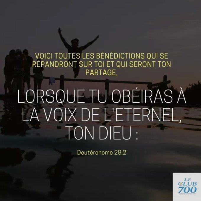 L'obéissance source de bénédictions